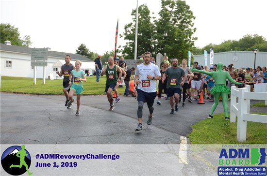 ADM Recovery Challenge photo of people running