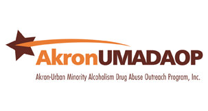 Akron–Urban Minority Alcoholism & Drug Abuse Outreach Program (UMADAOP), Inc. Logo